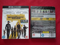 Blu Ray 4k The Magnificent Seven SEALED