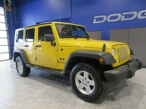 2008 Jeep Wrangler UNLIMITED SPORT