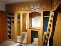Fitted bedroom wardrobes and cupboards