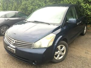 2007 Nissan Quest Base | Sits 7 Comfortably | Large Space