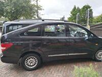 Ssangyong Rodius 7 Seater Black MPV - Low Mileage