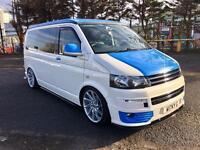 Vw t5.1 2.0 6 speed camper van 210bhp custom build