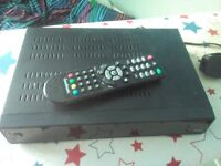 Recordable Goodmans Freeeview Box 500gb twin tuner