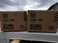 Magnetic work lights
