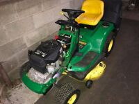 John Deere LTR180 Ride/Sit on Mower 17hp V-Twin Engine
