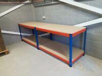 Rapid Heavy Duty Workbench with Full Lower Shelf