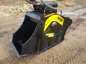 2008 MB BF90.3 crusher bucket. very good jaws.