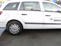 TAXI KIRKLEES PLATED TAXI O8 reg ASTRA 1,7 CDTI ESTATE WHITE TAXI MOT MAY 2018 158000 MILES