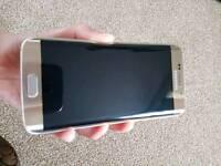Immacualte Samsung Galaxy S6 Edge Gold Platinum 32GB 02