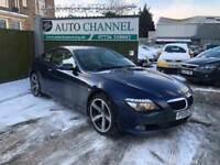BMW 6 Series 3.0 635d Sport 2dr£10,745 p/x welcome FREE WARRANTY. NEW MOT