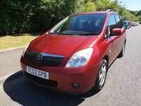 COROLLA VERSO T3 1.8 PEOPLE CARRIER , LOOKS AND DRIVES GREAT , MOTD DEC 2018 ,