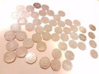 50p Coin Collection - Rare, Collectible, Unique, Various Designs