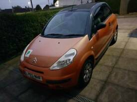 Citroen c3 pluriel orange