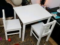 Kids white furniture