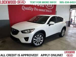2013 Mazda CX-5 GT - LEATHER, NAVI, SUNROOF, LOADED!!!