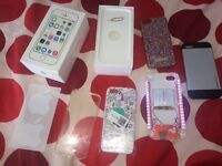iPhone 5s gold and white 32gb unlocked