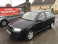SKODA FABIA 1.4 (2003) 1. YEAR MOT , WARRANTY £995