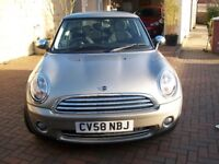 Mini One 3 door hatchback petrol very low mileage two lady owners.