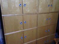 Ikea office cupboards x3