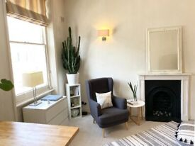 Lovely and bright, Centrally located, one bedroom flat with terrace