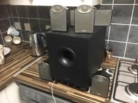 Surround sound speaker system tannoy