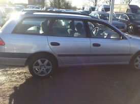 Toyota avensis 1.8 petrol lhd left hand drive year 2001 Africa export