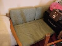 Wooden sofa bed FREE