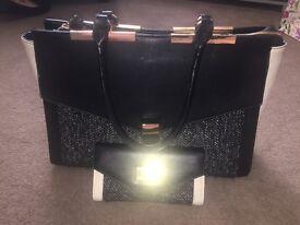 Marks and spencer handbag and purse