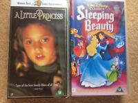 Video Tapes - Sleeping Beauty & A Little Princess