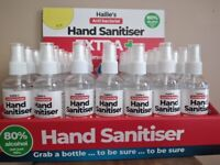 Distributes wanted for hand sanitiser