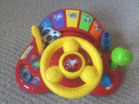 Beep beep wheel with sounds and lights