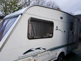 Caravan 2003 Swift Challenger 2 Birth