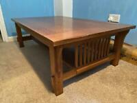 Vintage Large Coffee Table (Retro / 50s / Danish Style)