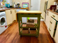 John Lewis Butchers Trolley
