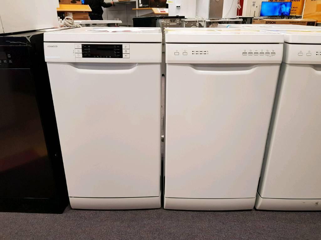 KENWOODKDW45W16 Slimline Dishwasher - White