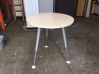 VERY HIGH QUALITY HERMAN MILLER 750mm MEETING TABLE HEIGHT ADJUSTABLE LEGS