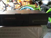 Kenwood car 6 CD changer