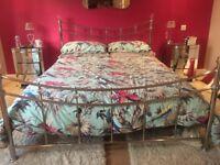 Kingsize bed frame from Next