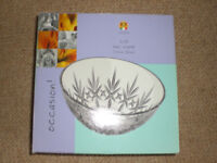 Crystal Bowl £10 each ono (2 available), unused condition