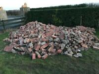FREE Hardcore (bricks and roof tiles)