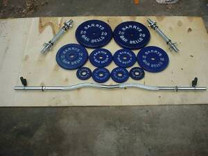 BRAND NEW WEIGHT LIFTING COMBO SET REDUCED TO CLEAR .. Holden Hill Tea Tree Gully Area Preview