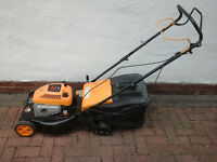 McCulloch Self Propelled Petrol lawnmower with rear roller .. SERVICED