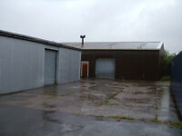 Secure unit / workshop to let - 3000sq/ft ,cheap all incl.option for storage if req'd, HGV access