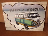 Campervan wall picture