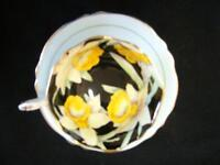 FOOTED PARAGON DAFFODIL (NARCISSUS) CUP 'N SAUCER