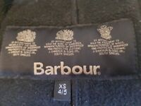 Girls Barbour Jacket 4-5years.