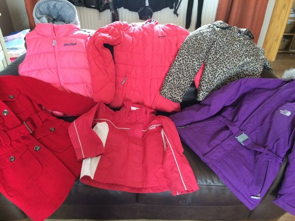 Girls bench regatta next coats and gilets like new
