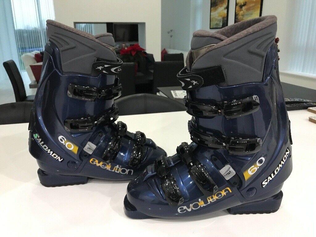 f46f30e747a1 Men s Salomon Ski Boots + Salomon Boot Bag - As new