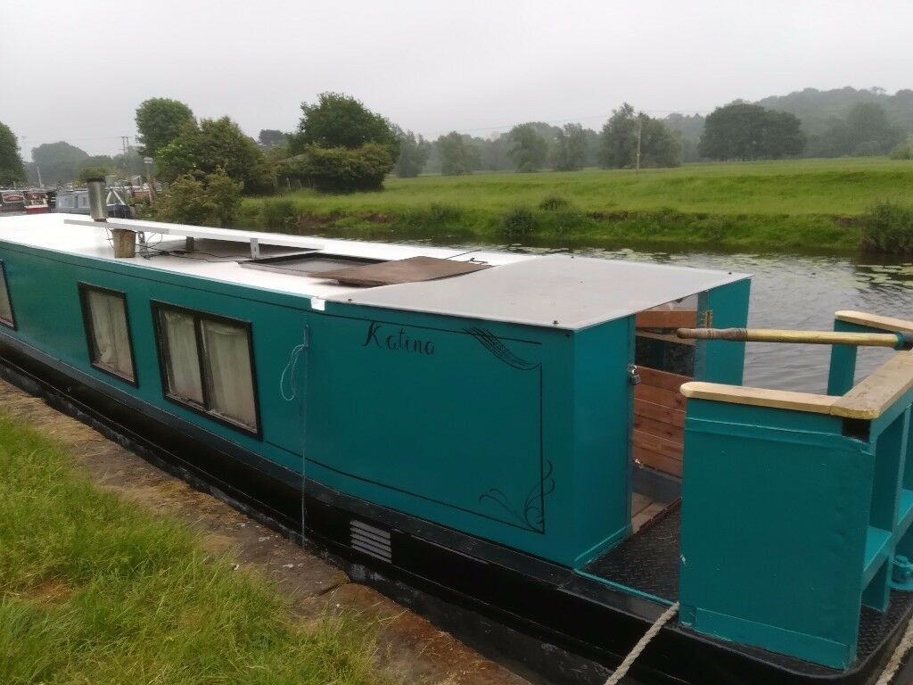 Narrow Boat 45 Foot Great Starter Boat Lister Engine