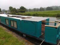 Narrow boat. 45 foot. Great starter boat. Lister engine solar panels BSc 2021